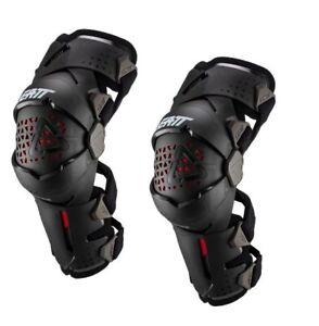 Leatt Knee Brace Z-Frame Pair Body Armor Protection Moto MX SX ATV Off Road Bike