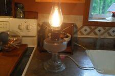"Aladdin Nu-Type B Burner w/ Clear Glass Base Includes a 10"" chimney (Made Electr"