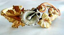 and Brass-Handmade Cuff Bracelet-Silver, Copper
