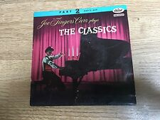 "French EP Joe ""Fingers"" Carr The classics Hungarian Scarf Anitra's Sabre Ragtime"