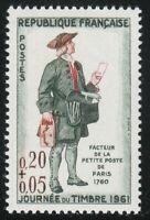 France 1961 MNH Mi 1339 Sc B349 Letter Carrier,Paris 1760 **