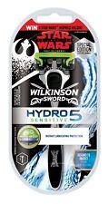 Wilkinson Sword Hydro 5 sensible Razor Edición Especial De Star Wars Manija Cromo