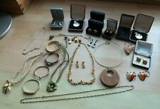 Huge Collection 30 x Pieces Of Various Costume Jewellery Some Vintage