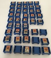 2007 STRATEGO The Chronicles of NARNIA  Board Game Parts  43 Blue Pieces