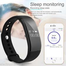 Diggro OLED Reloj Bluetooth Pulsera Inteligente Podómetro Sueño Fitness Tracker