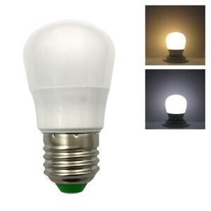 10x E27 A15 A45 LED Bulb DC12V 1W 9-5050 SMD Globe Blub lamp Warm/White light