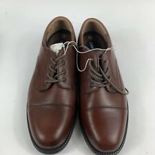 """Cherokee """"Theo"""" Casual Dress Lace-up Oxford Brown Leather Mens Shoes 11"""