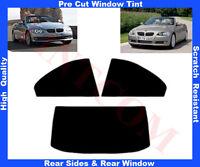 Pellicola Oscurante Vetri Auto Pre-Tagliata BMW Serie 3 Cabrio 06-12 da 5% a 50%