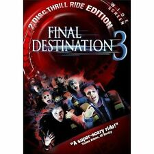 Final Destination 3 Special Edition (DVD, 2006, w/Slipcover) Free Shipping !!!