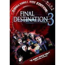Final Destination 3 (DVD 2-Disc Set Special Edition) Brand New Sealed Widescreen
