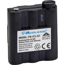 BATTERIE ORIGINAL DE MIDLAND 800MAH PB-ATL/G7 BATT5R POUR G7 GXT1050 GXT1000 900