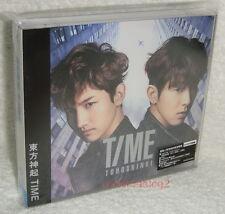 TOHOSHINKI TVXQ TIME Taiwan Ltd CD+DVD+Card (Ver.B) Dong Bang Shin Ki DBSK
