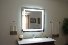 """MAM83632 -  36"""" wide x 32"""" tall - lighted vanity mirror - LED - makeup mirror"""