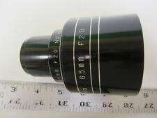 Westar 65mm Focal Length F2.0 35mm Cine Projector Lens NOS