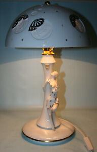 """Lithophanie-Lampe """"Dame"""", Kati Zorn, Volkstedt, 48cm hoch"""