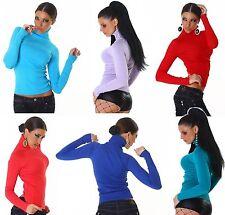 Langarm Damen-Pullover & -Strickware aus Nylon ohne Verschluss