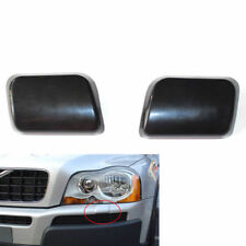 2xset Headlight Washer Nozzle Cover Front Bumper Lr For Volvo Xc90 25t Primed Fits Volvo
