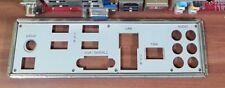 Backplate Mainboardrückblende für Motherboard MSI Microstar MS-7504