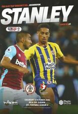 Accrington Stanley Home Team League Two Football Programmes