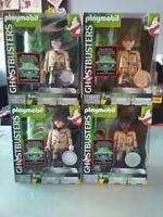 "Full set big Playmobil Ghostbusters Collectors Edition 6"" figures Venkman Cheap!"