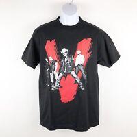 U2 Vertigo Tour Band Concert T-Shirt Mens Medium Black Red Rock Roll Bono NWOT
