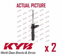 2 x FRONT AXLE SHOCK ABSORBERS PAIR STRUTS SHOCKERS KYB OE QUALITY 3348013