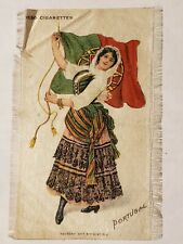 Nebo Cigarettes Woman Portugal Silk Flag