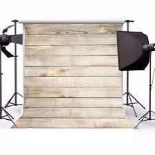 10x10ft Background Wood Plank Theme Vinyl Photography Studio Props Backdrop Show
