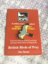 RSPB Pin Badge Hen Harrier
