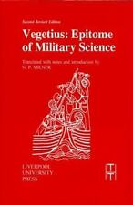 Vegetius: Epitome of Military Science (Liverpool University Press - Translated