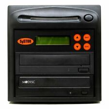 Systor 1 to 1 M-Disc 24X CD / DVD Multi Target Duplicator Tower