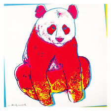 Giant Panda by Andy Warhol 54cm x 54cm High Quality Art Print
