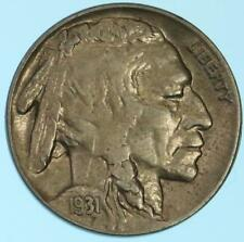 Sharp Semi-Key Date/Mint Toned 1931-S Buffalo Nickel US Coin Lot E626
