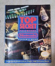 Top Secret Passwords Nintendo Guide. Good condition