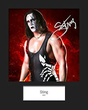 STING #2 (WWE) Signed 10x8 Mounted Photo Print - FREE DELIVERY