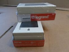 Lot of 2 Legrand Wiremold V5748 Gang Electrical Switch and Receptacle Box