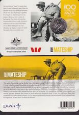 2015 WWI Anzacs Remembered 20c Collection - Mateship