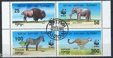 Batum 1994, Wild animals block WWF, Used CTO