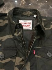 NWT Levi's Camouflage Quilted Shirt Jacket Medium MSRP $140