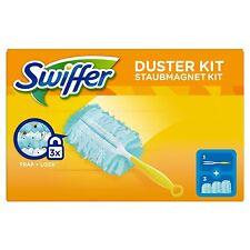 Swiffer Dust Magnet Starter Set & Handle Set of 3 Towels