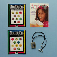 American Girl Notebook Necklace 1998 AGOT Accessories Pleasant Company Retired