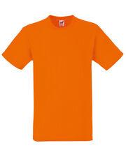 Adult Fruit of the Loom Plain Heavy Cotton t-shirt - Blank Short Sleeve Top