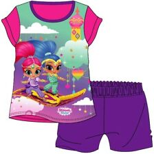 Girls Official Shimmer and Shine Pyjamas Pajamas Age 2-3 Years