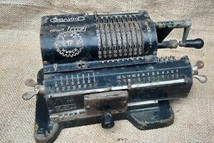 Adding Machine Vintage Soviet Mechanical Calculator Felix Arithmometer 1950 №2