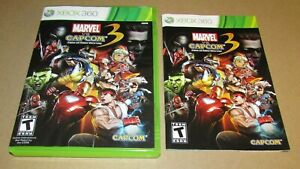 Marvel VS. Capcom 3 Fate of Two Worlds (Case & Manual Only) Xbox 360