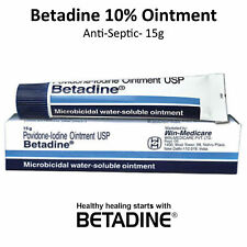 Betadine Povidone-iodine 10 First Aid Antiseptic Ointment Wound Burn - 15g