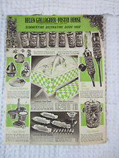 1968 Summer Decorating guide catalog Helen Gallagher-Foster House Peoria IL