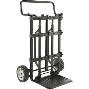 """(1)-Dewalt 9"""" Wide X 37"""" High ToughSystem 2 Wheel Carrier Tool Cart DWST08210"""