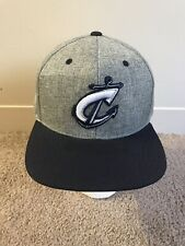 Columbus Ohio Clippers Baseball Snapback Hat Gray MLB Minor League A+