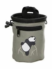 Amc(Tm Rock Climbing Panda Bear Design Chalk Bag w/Drawstring Closure and Belt